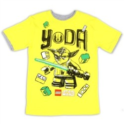 Lego Star Wars Yellow Yoda Grpahic T Shirt