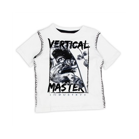 Industry 9 Vertical Master Skateboarding Short Sleeve T Shirt