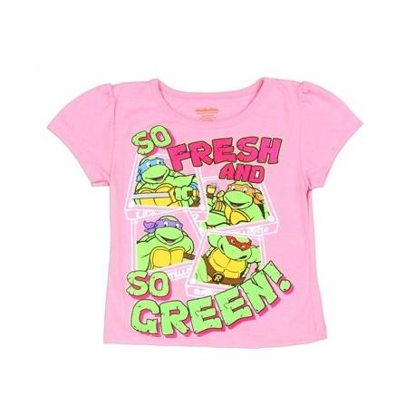 Nick Jr Teenage Mutant Ninja Turtles Toddler Girls Shirt