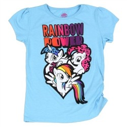 My Little Pony Rainbow Power Aqua Graphic T Shirt