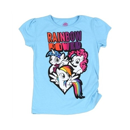 My Little Pony Rainbow Power Aqua Graphic T Shirt Space City Kids Clothing Store