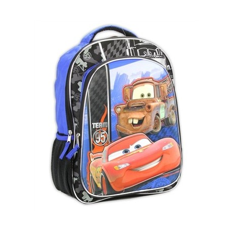 "Disney Cars Lightning McQueen And Mater 16"" Backpack"