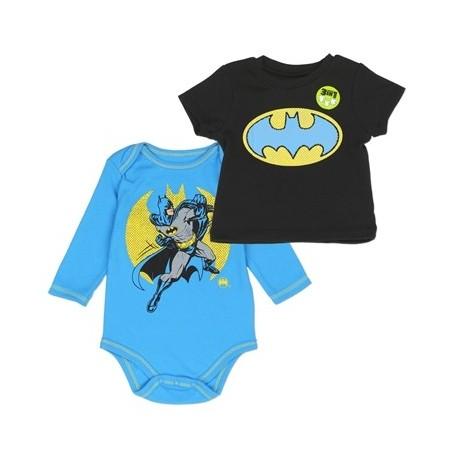 DC Comics Batman The Caped Crusader 2 Piece Shirt Set