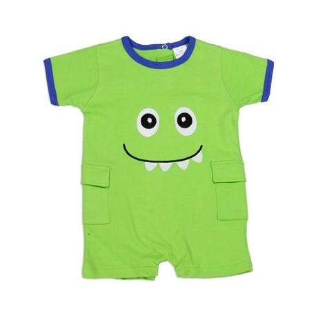 Little Beginnings Little Green Monster Infant Romper