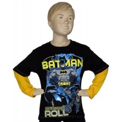 Batman This Is How I Roll Black Long Sleeve Shirt From DC Comics