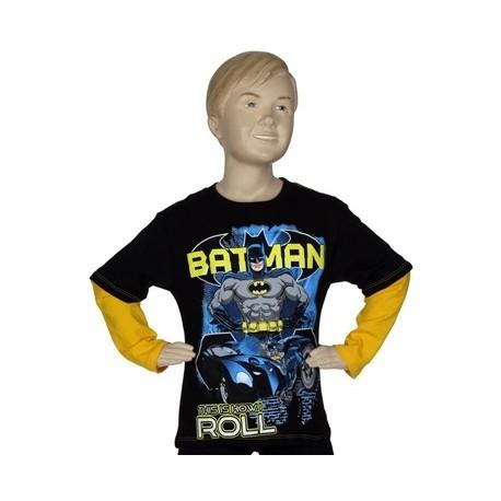 Batman This Is How I Roll Black Long Sleeve Shirt From DC Comics