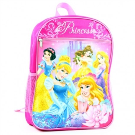 Disney Princess Pink Backpack For School