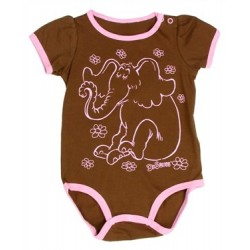 Dr Seuss Horton Hears A Who Brown Infant Creeper