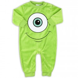 Disney Pixar Monsters Inc Green Velour Sleeper