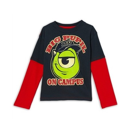 Disney Monsters Uiversity Big Pupil On Campus Long Sleeve Shirt