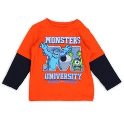 Disney Pixar Monsters University Scarers In Training Long Sleeve Shirt