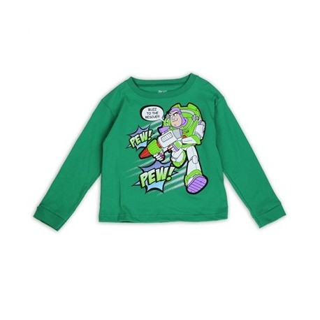 Disney Pixar Toy Story Buzz To The Rescue Long Sleeve Shirt