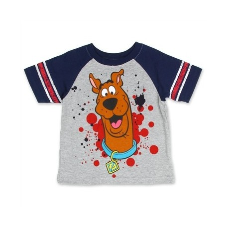 Loveable Scooby Doo Grey boys Short Sleeve T Shirt