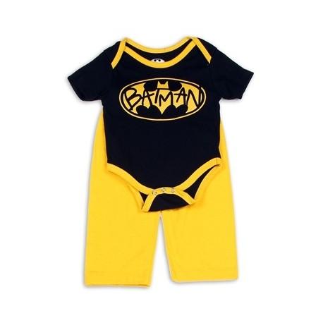 DC Comics Batman Black Bat Signal Creeper And Yellow Pants