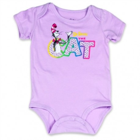 Dr Seuss The Cat Lilac Infant Girls Creeper