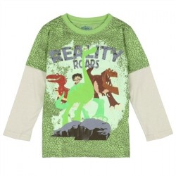 Disney The Good Dinosuar Reality Roars Long Sleeve Shirt