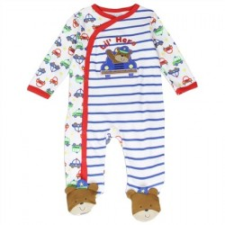 Buster Brown Snap Down Lil Hero Footed Sleeper Space City Kids Clothing Store