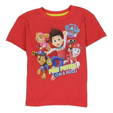 Chase Marshal Skye And Ryder Paw Patrol On Patrol 2T- 5T Toddler Graphic T Shirt