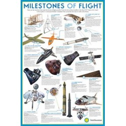 Smithsonian Milestones Of Flight Wall Poster