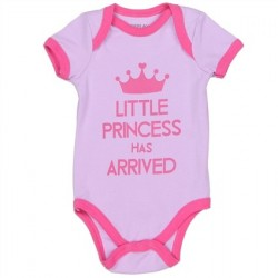 Weeplay Little Princess Has Arrived Lavender Infant Onesie Space City KIds Clothing Store