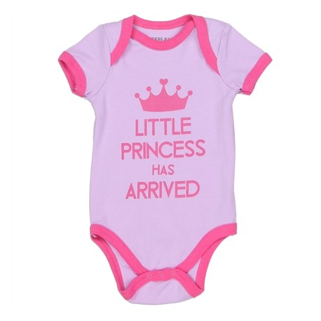 Weeplay Little Princess Has Arrived Lavender Infant Onesie L04689