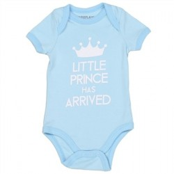 Weeplay Little Prince Has Arrived Blue Infant Onesie