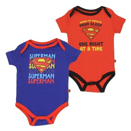 DC Comics Saving My Parents From Sleep One Night At A Time Onesie Set