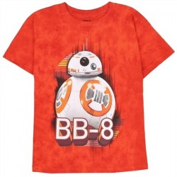 BB-8 Star Wars The Force Awakens Boys Graphic T Shirt