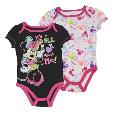 It's All About Me 2 Piece Onesie Set From Disney Minnie Mouse