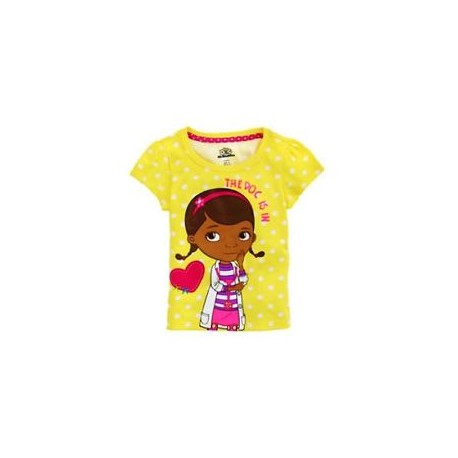 Disney Doc McStuffins The Doc Is In Yellow T Shirt