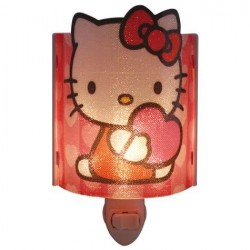 Hello Kitty Plug In Acrylic Nightlight Light Bulb Included 26501