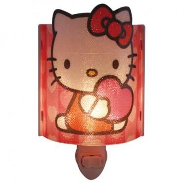 Hello Kitty Plug In Acrylic Nightlight Light Bulb Included 26501