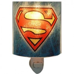 DC Comics Superman Plug In Nightlight With Light Bulb
