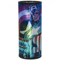 Marvel Comics Captain America Round Battery Operated Hanging Nightlight