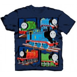 Thomas & Friends Graphic Tee With James, Percy and Thomas On The Front