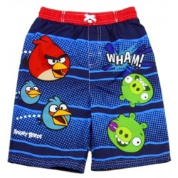 Toddler Angry Birds Blue Swim Shorts Tag Price $22.00