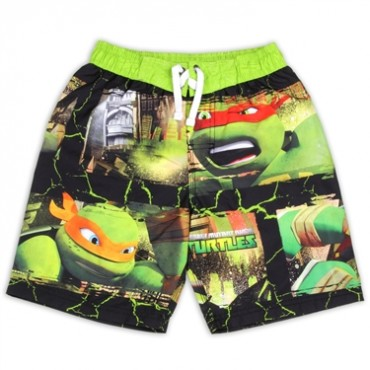 Nick Jr Teenage Mutant Ninja Turtles Boys Swim Shorts