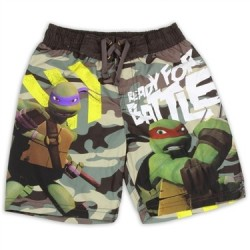 Nick Jr Teenage Mutant Ninja Turtles Ready For Battle Boys Swim Shorts