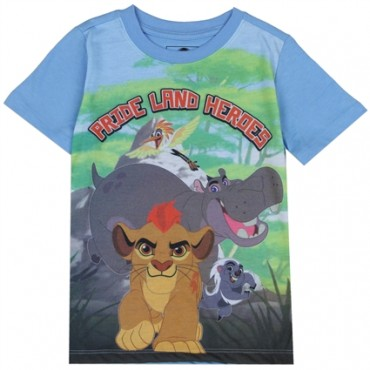 Disney Lion Guard Pride Land Heroes Blue Toddler Shirt
