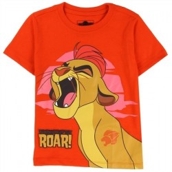 Disney Lion Guard Kion's Roar Orange Toddler Shirt