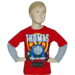 Thomas and Friends Long Sleeve Shirt Space City Kids Clothing