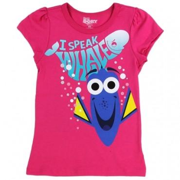Disney Finding Dory I Speak Whale Toddler Girls Shirt