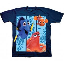 Disney Finding Dory Hank Dory And Nemo Blue Toddler Shirt