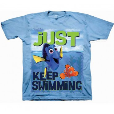 Disney Pixar Finding Dory Just Keep Swimming Dory And Nemo Shirt