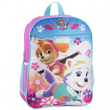 Nick Jr Paw Patrol Everest and Skye Girls Backpack at Space City Kids