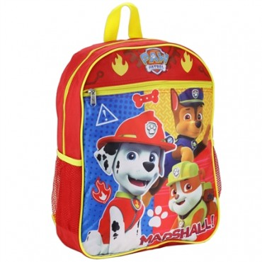 Nick Jr Paw Patrol Marshall With Chase And Marshall Boys Backpack At Space City Kids