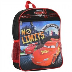 Disney Pixar Cars No Limits Lightning McQueen Backpack