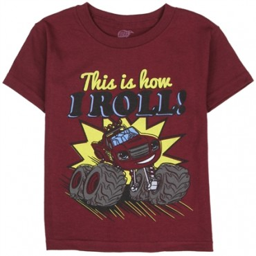Nick Jr Blaze And The Monster Machines This is How I Rolll Shirt At Space City Kids