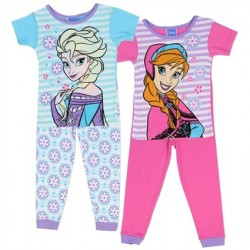 Disney Frozen Anna And Elsa 2 Piece Toddler Pajama Set