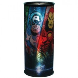 Marvel Comics Avengers Round Hanging Nightlight Space City Kids Clothing